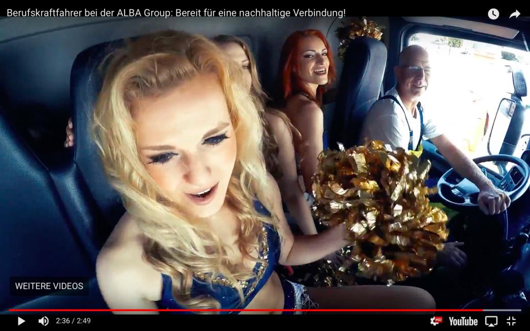 Social Media Recruiting Video der Alba