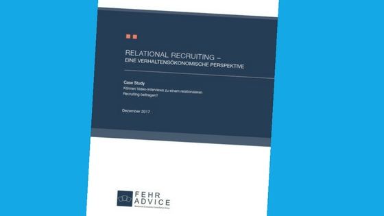 Videorecruiting Studie Screenshot FehrAdvice Wepow Relational Recruiting