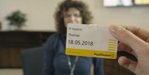 PostFinance's Tour durch die Arbeitswelten