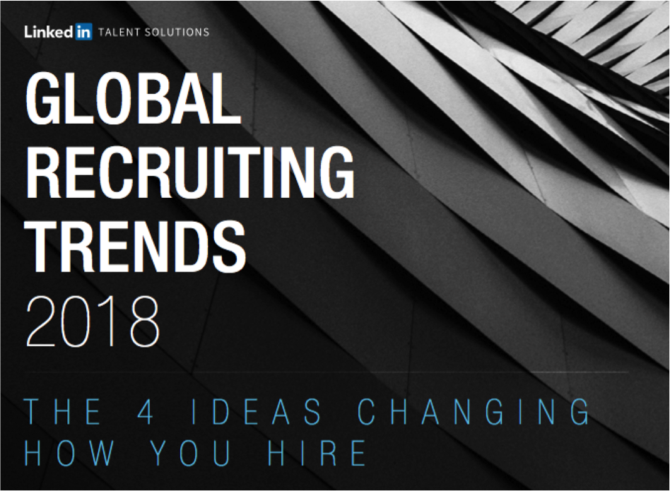 Screenshot LinkedIN Global Recruiting Trends
